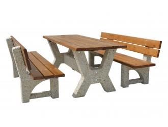 """Cтолы садовые - Комплект """"Гарден со скамейками"""""""