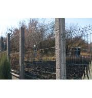 Сборный забор заполнение стальная 3д сетка